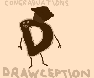 Drawception Graduation Ceremony