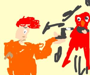 Elmo dying
