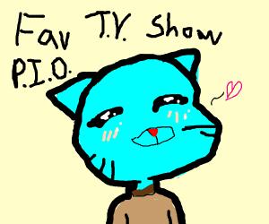 Favorite tv show p.i.o (south park)
