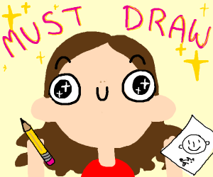 Everytime i think about drawing