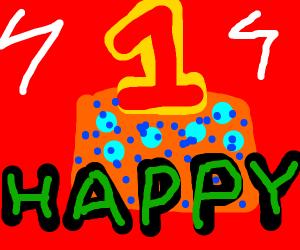 Happy 1 year birthday