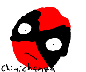 """wide-eyed deadpool: """"chimichanga!"""""""