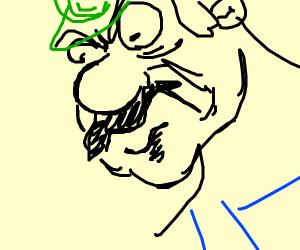 Luigi is mad