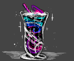 space smoothie!