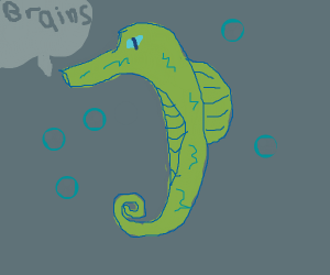 Zombie seahorse.
