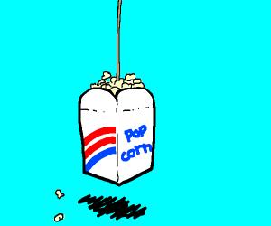 popcorn on a string