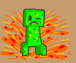 Winking creeper destroys your existence