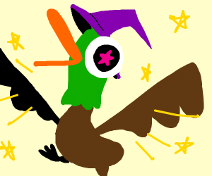Wizard duck!