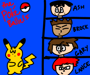 pikachu will not go into a boy band -ash