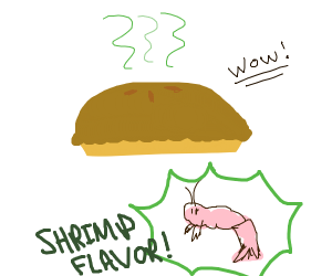 Shrimp-pie??