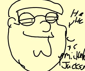 OH MY GOD IT'S MICHAEL JACKSON HEE HEE