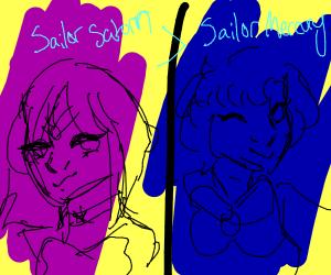Sailor Saturn is better than Sailor Mercury