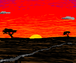 the savana
