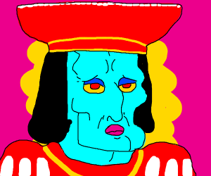 Handsome squidward as farquaad