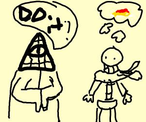 The Illuminati threatens Papyrus