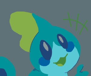 Cute sobble