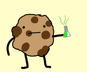 Cookie drinks poison