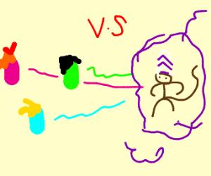 The Power Puff Girls VS Mojo