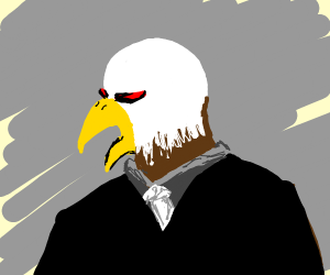 birdman is angry