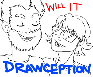 rhett and link: will it drawception?