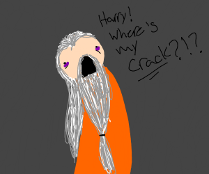 dumbledore asking Harry where his crack is