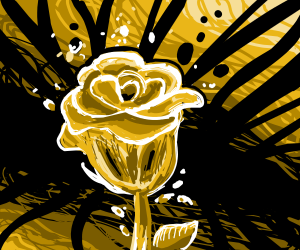 A rose as seen by Lovecraft