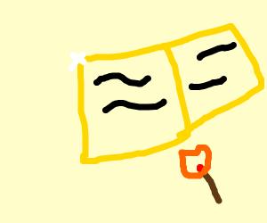 gold matchbook