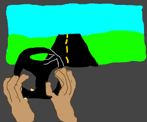 Person steering