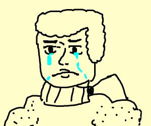 King Geroge III crying