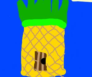 Spongebobs pineapple house