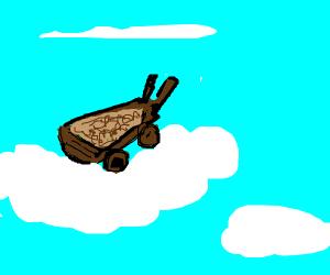 Wheelbarrow in the sky