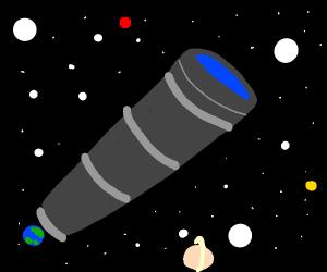 Biggest telescope in universe