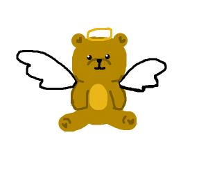 Cute Angel Bear