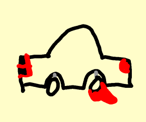 car with boot