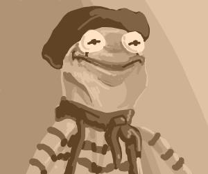 Kermit as a mime
