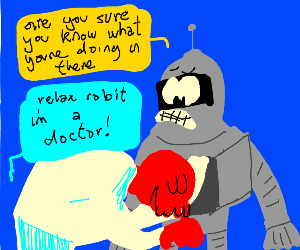 Futurama robot surgery