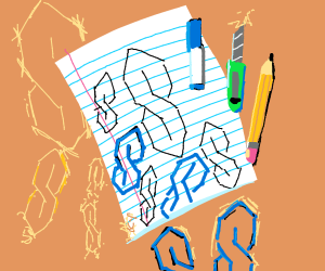 The S that everyone draws in middle school
