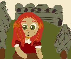 cute ginger Irish girl