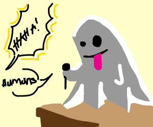 Comical Ghost