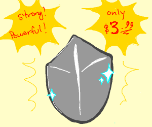A strong, powerful shield for only $399