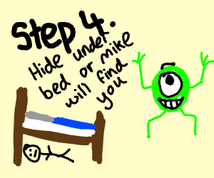 Step 3: RUN. MIKE WAZOWSKI WILL CHASE.