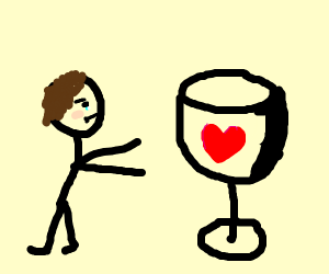 man thristy for love