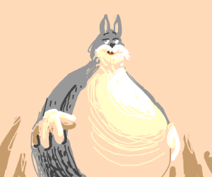 Sly big chungus