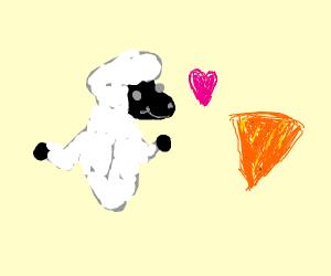 dew shep loves doritos (furry)