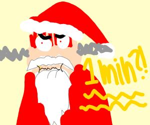 Santa hates blitz mode
