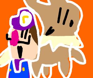 WALULIGI!!! (And Evee the pokemon)