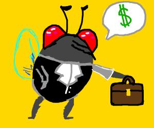 Fly salesman