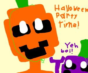 A good Halloween party