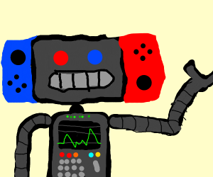 Nintendo switch robot