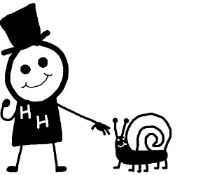Hurricane Harry and a snail with legs